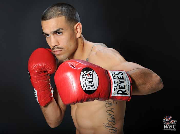 Andy Vences (Foto:Cecilia Alvarez/WBC Los Angeles Office)