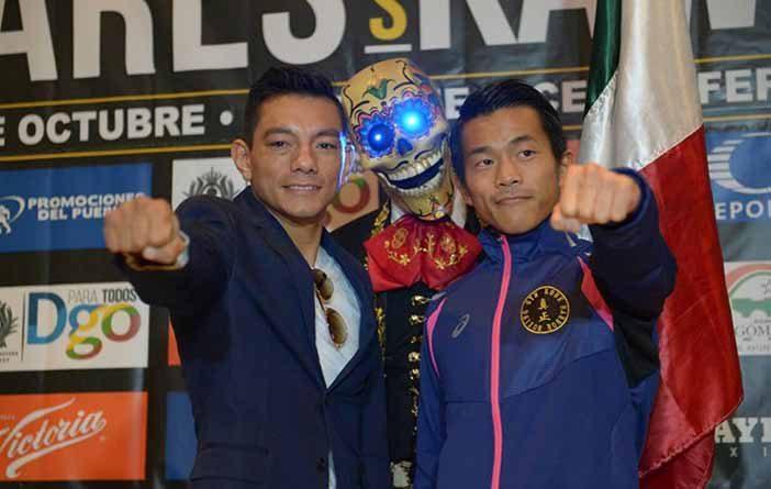 """Cristian """"Diamante"""" Mijares vs Shohei Kawashima"""
