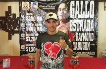 "Juan Francisco ""Gallo"" Estrada - Zanfer Boxing"