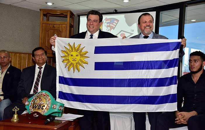 Mauricio Sulaimán y Sampson Lewkowicz (WBC)