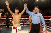 "Tomoki ""El mexicanito"" Kameda (Foto Zanfer Boxing)"