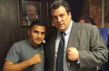 "Juan ""Churritos"" Hernández y Mauricio Sulaimán."