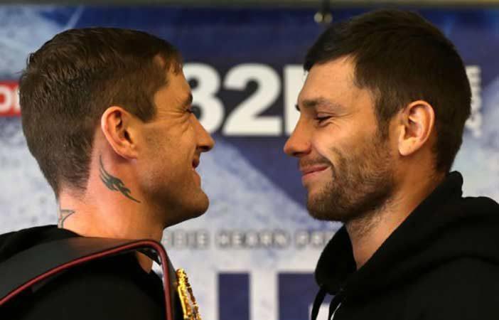 Burns y Relikh (Foto: Sky Sports)
