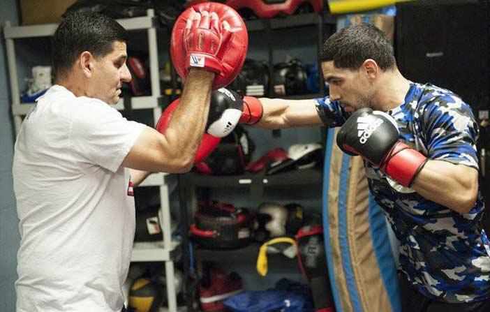 Ángel García y Danny García