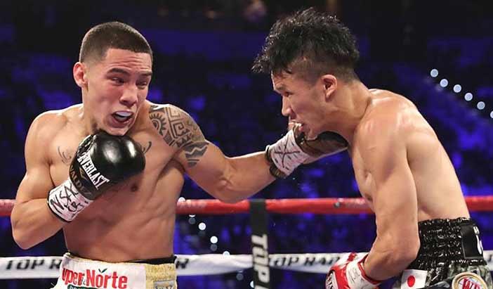 Óscar Valdez vs Osawa (Foto: Top Rank)