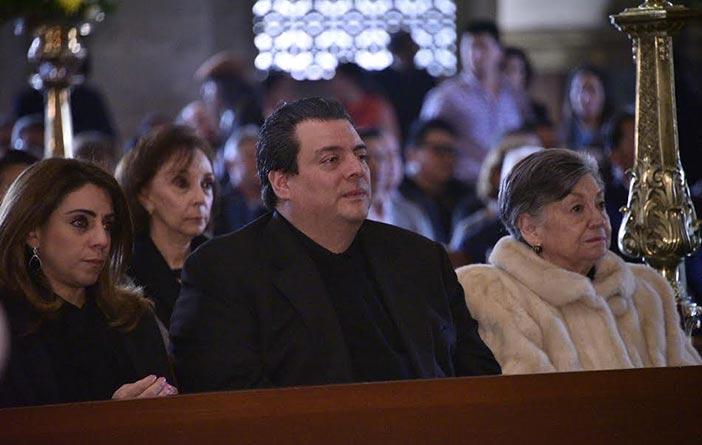 Familia de José Sulaimán (Foto: Alma Montiel
