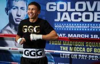 GENNADY GOLOVKIN (PHOTO CREDIT: WBC Mikey Williams and Jason Robles)
