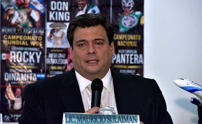 Mauricio Sulaimán presidente del CMB