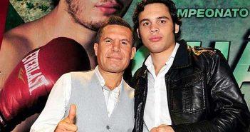 Julio César Chávez y su hijo Julio César Chávez Jr.