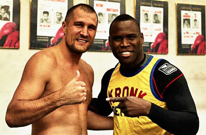 Kovalev junto a Stevenson