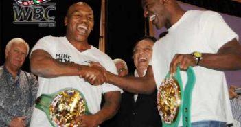 Tyson y Holyfield