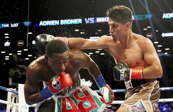 Broner vs García