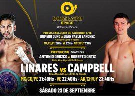 Jorge Linares vs Luke Campbell por Combate Space