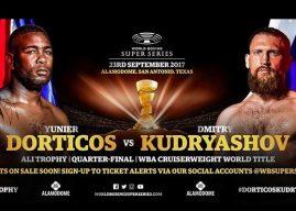 Yunier Dorticos vs Dmitry Kudryashov este sábado