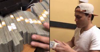 Chávez Jr. alardeando del dinero que ganó con Canelo.