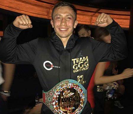 Sulaimán: ¡Golovkin – Campeón de campeones!