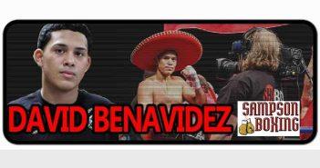 David Benavidez con Sampson Boxing