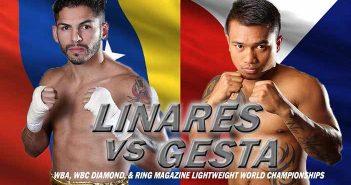 Jorge Linares vs Mercito Gesta