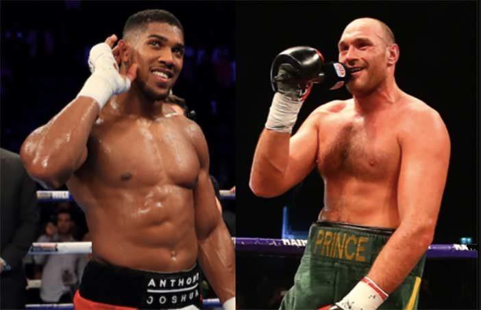 Joshua vs Fury