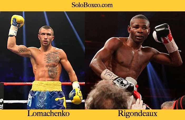 Lomachenko vs Rigondeaux
