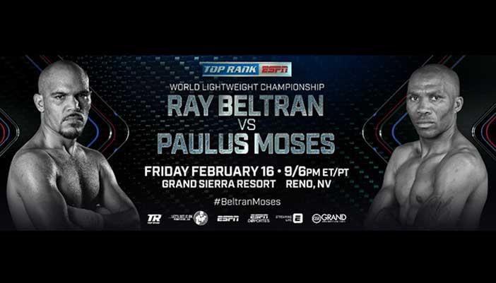 Rey Beltran vs Paulus Moses