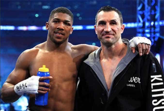 Joshua y Klitschko