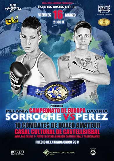 Melania Sorroche vs Davinia Perez