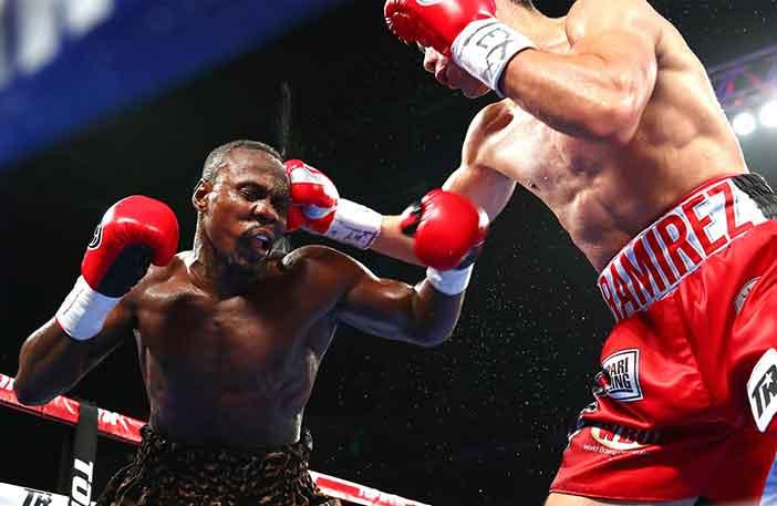 Ahmed vs Ramírez (Mikey Williams/Top Rank)