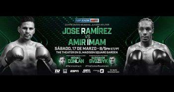 José Ramírez vs Amir Iman
