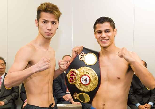 Matsumoto vs Román - Photos:Jason Robles / Thompson Boxing Promotions