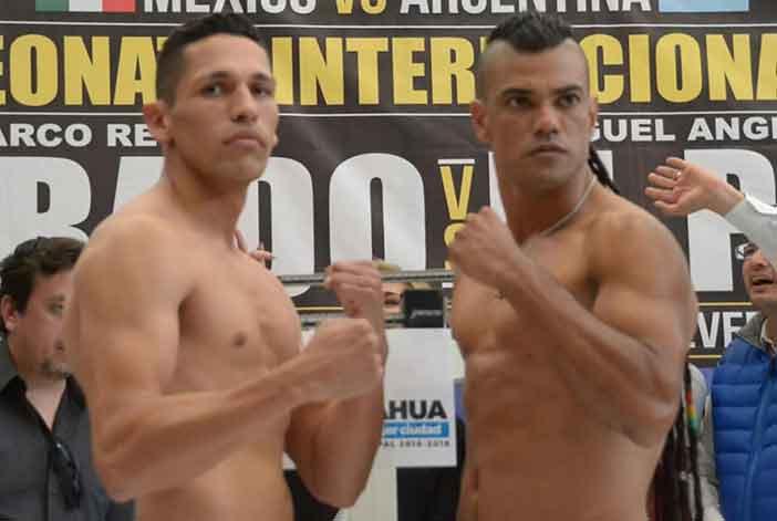 """Marco 'Dorado"""" Reyes y Miguel Ángel 'El Pibe' Suárez"""