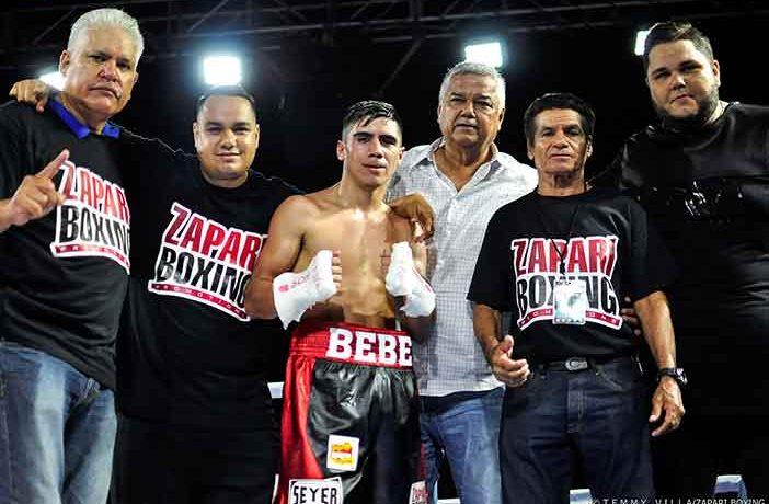 Ismael Vega (Crédito Fotos: Temmy Villa, Zápari Boxing Promotions)