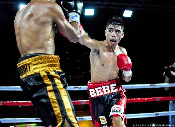 "Ismael ""Bebe"" Vega (Crédito Fotos: Temmy Villa, Zápari Boxing Promotions)"