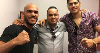 "Ray Beltrán (Izquierda) y ""Zurdo"" Ramírez (Derecha)"