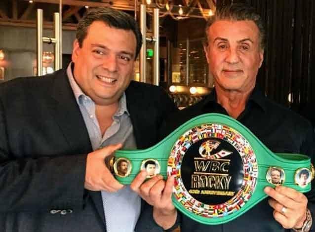Sylvester Stallone recibe el cinturón del CMB