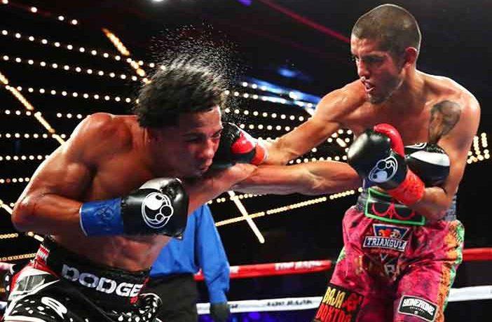 Antonio Lozada Jr. golpea a Félix Verdejo (Foto: Top Rank)
