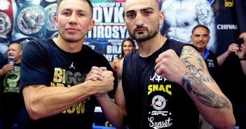 Golovkin y Martirosyan (GGG PROMOTIONS)
