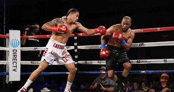 Lenin Castillo vs Aaron Mitchell (Foto: Hector Santos /PMC)