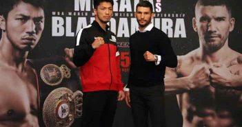Ryota Murata y Emanuele Blandamura (Foto: Sumio Yamada)