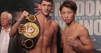 Jamie McDonnell y Naoya Inoue