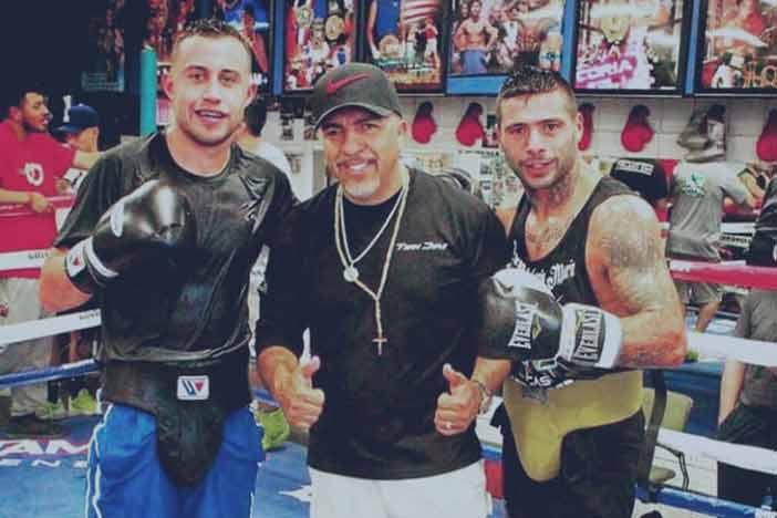 Joseph 'Diamante' Aguirre,Joel Díaz y Matthysse