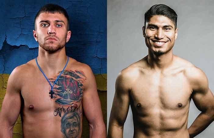 Vasyl Lomachenko vs Mikey García