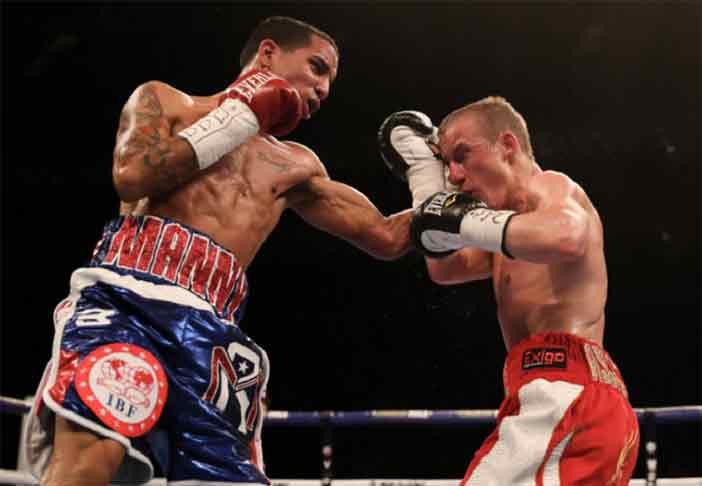 """Enmanuel """"Manny"""" Rodríguez vs Butler (Foto: Matchroom Boxing)"""
