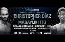 Christopher Díaz vs Masayuki Ito