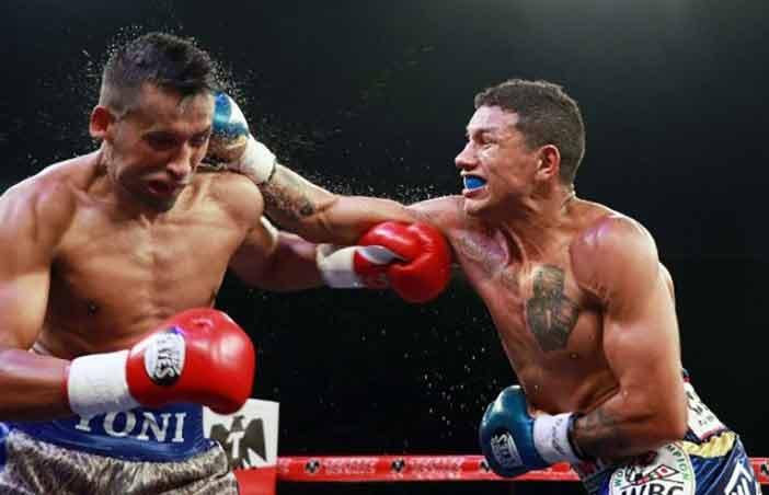 Barros vs Miguel Berchelt