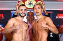 Christopher Díaz vs Masayuki Ito (Foto: Mikey Williams / Top Rank)
