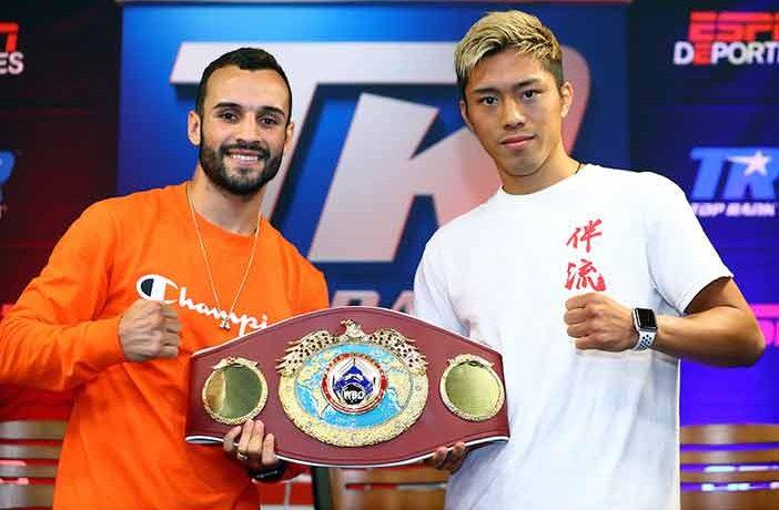 """Christopher """"Pitufo"""" Diaz vs Masayuki Ito (Mikey Williams/Top Rank)"""