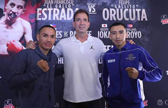 """Juan Francisco """"Gallo"""" Estrada (Izquierda) y Felipe """"Gallito"""" Urucuta (Derecha) - Foto: Tom Hogan - Hoganphotos/360 Promotions"""