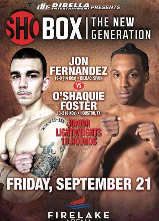 Jon Fernández vs Foster