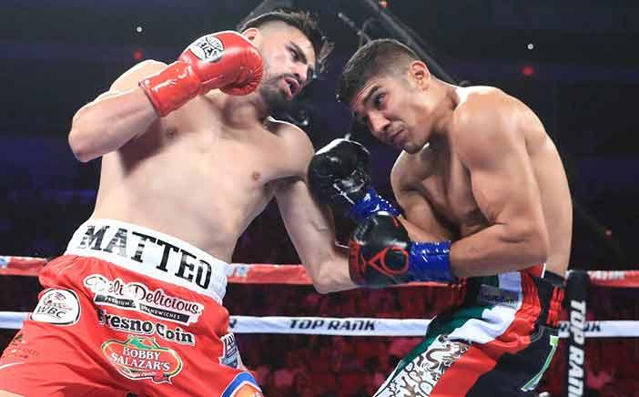 José Ramírez vs Antonio Orozco ( Fotos: Mikey Williams / Top Rank)